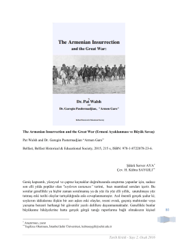 80 The Armenian Insurrection and the Great War (Ermeni