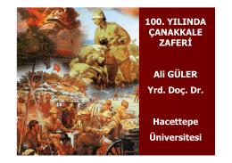 Ali Güler Çanakkale