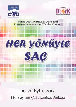 Her Yönüyle Saç Programı - Türk Dermatoloji Derneği