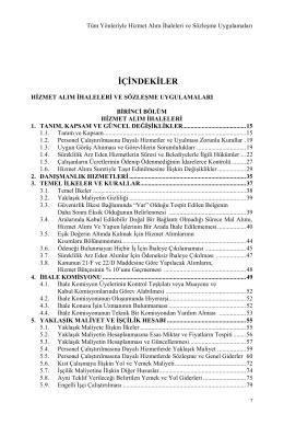 İÇİNDEKİLER - Kim Akademi | Kim Akademi