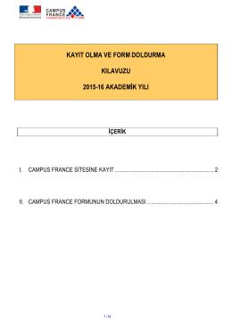 Guide d`inscription et formulaire CF 2014-15