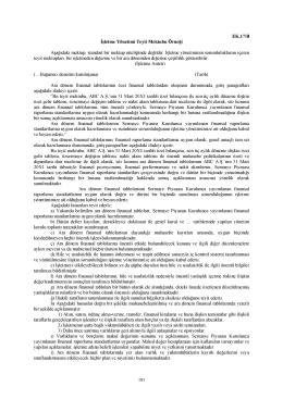 İşletme Yönetimi Teyit Mektubu Örneği Aşağıdaki