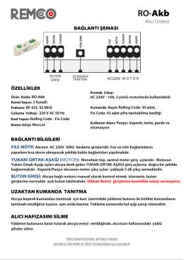 RO-Akb - Remco Motor ve Kontrol Sistemleri