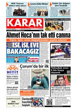 27 Ocak 2016.qxd - Kesin Karar Gazetesi