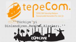 ``Türkiye`yi Dinlendiren,Reklam Alanları.``