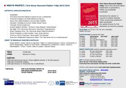 Türk-Alman Ekonomik İlişkiler Yıllığı 2015/2016 - TD-IHK