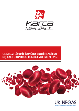 for Leucocyte Immunophenotyping