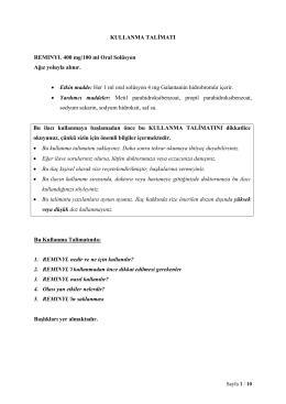 REMINYL_Oral Solusyon_KT