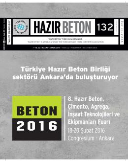 to see PDF file - Türkiye Hazır Beton Birliği