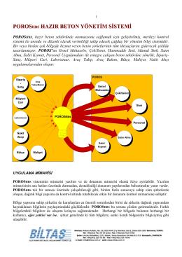 HBS/400 HAZIR BETON SİSTEMİ ENTEGRE PAKETİ