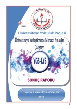 Üniversiteye Yolculuk Projesi