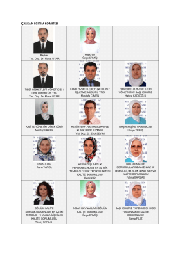 çalışan eğitim komitesi