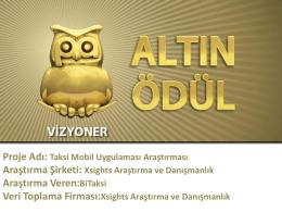Altın Ödül - XSights