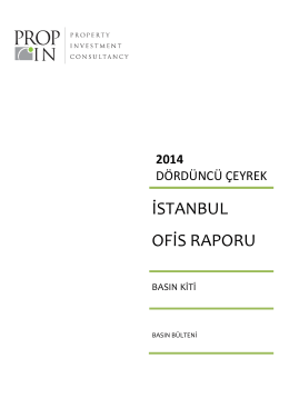 istanbul ofis raporu - PROPIN | Property Investment Consultancy