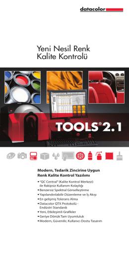 TOOLS®2.1 - Datacolor Industrial