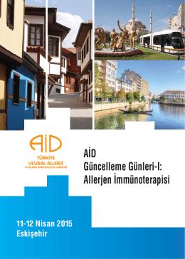 Allerjen İmmünoterapisi - Türkiye Ulusal Allerji ve Klinik İmmünoloji