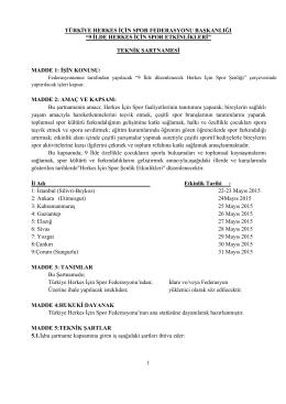 Bağcılar Belediyesi İzcilik Faaliyetleri Organizasyonu