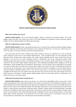 türk dil kurum başkanı prof.dr mustafa sinan kaçalin