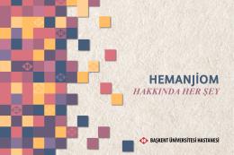 HEMANJİOM - Başkent Üniversitesi Adana Hastanesi