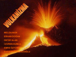 5-) Volkanizma