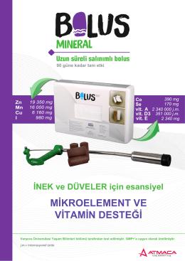 mineral bolus tr