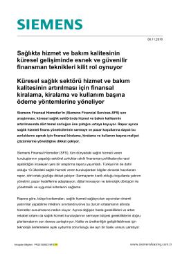Hintergrund-Information Siemens AG englisch
