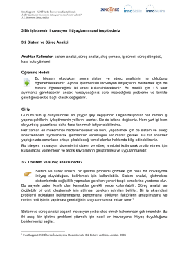 2_Sistem ve Süreç Analizi