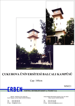 Çukurova Üniversitesi Balcalı Kampüsü
