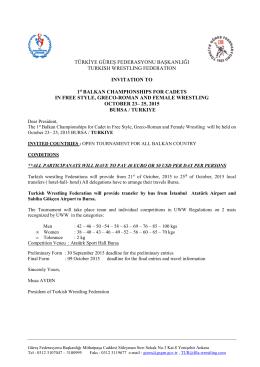 Balkan Championships Invitation (2015)