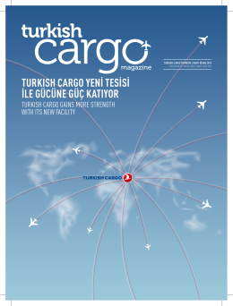 Mart - Nisan - Turkish Cargo