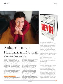 Ankara`nın ve Hatıraların Romanı
