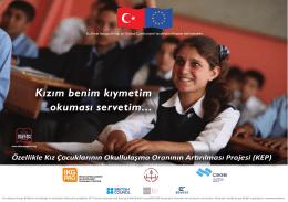 Poster 4 - Özellikle Kız Çocuklarının Okullulaşma Oranının