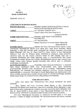 Isparta İdare Mahkemesi