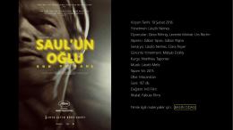Vizyon Tarihi: 19 Şubat 2016 Yönetmen: László
