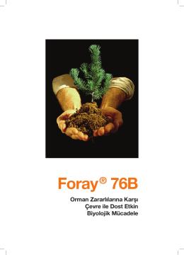 Foray® 76B - Envirotek Çevre Sağlığı