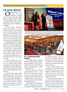 sayfa 23 - rotary dergisi