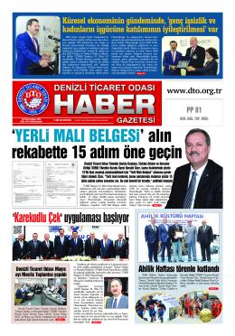 Gazete 73 - Denizli Ticaret Odası