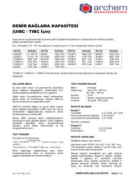 Archem DEMİR BAĞLAMA KAPASİTESİ V.2.9 TR