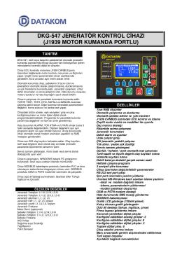 Broşür - Datakom