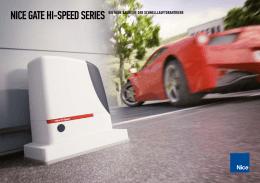 nice gate hi-speed series die neue baureihe der