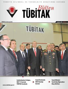 Cumhurbaşkanı Erdoğan, İDEF`15 Fuarında TÜBİTAK Standında