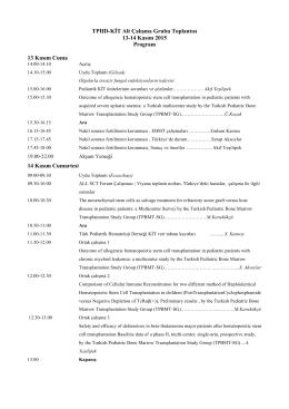 TPHD-KİT Alt Çalışma Grubu Toplantısı 13