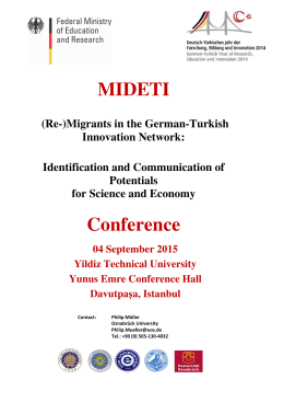 MIDETI Conference