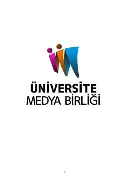 tanıtım dosyası - Üniversite Medya Birliği