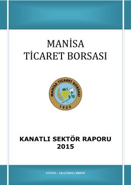 kanatlı sektör raporu 2015