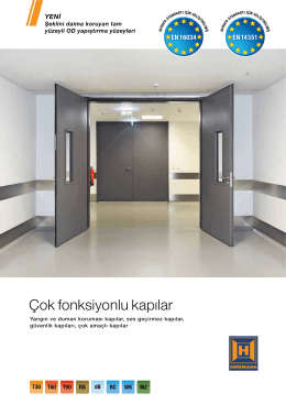 Çok fonksiyonlu kapılar