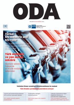 ACHEMA 2015 - Deutsch-Türkische Industrie