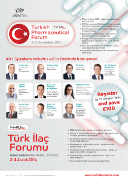 Türk İlaç Forumu