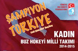 buz hokeyi milli takımı - Türkiye Buz Hokeyi Federasyonu