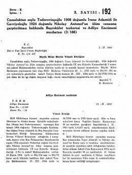 3İ Casusluktan suçlu Todorovinçoğlu 1908